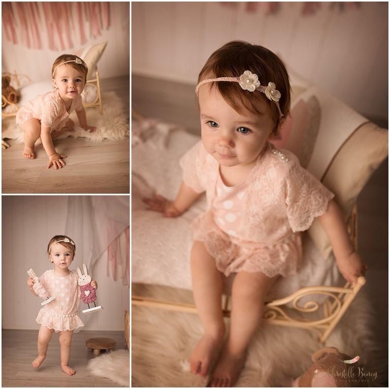séance photo bébé en studio Toulouse