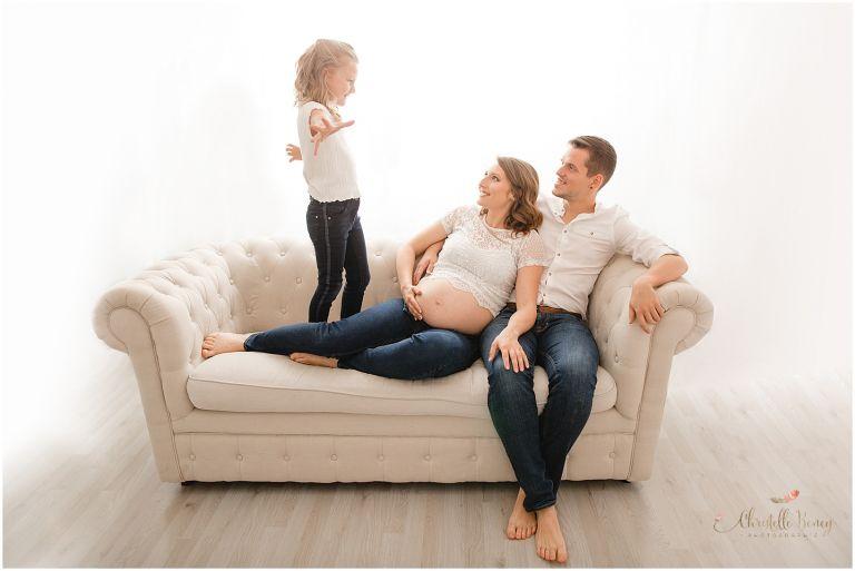 photo famille grossesse